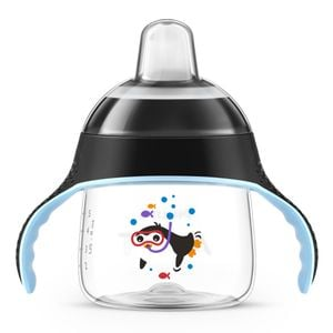 COPO PINGUIM 200ML PRETO - AVENT