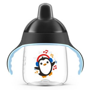 COPO PINGUIM 260ML PRETO - AVENT