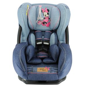 CADEIRA PARA CARRO DISNEY ERIS DENIM MINNIE -  TEAM TEX