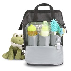 BABY BAG G BACKPACK COM TROCADOR - DERMIWIL BABY GO