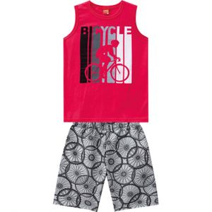 CONJUNTO BICYCLE MASCULINO DO 04 AO 08 - KYLY