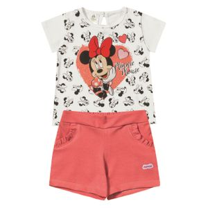 CONJUNTO BEBÊ MINNIE DO P AO GG - MARLAN