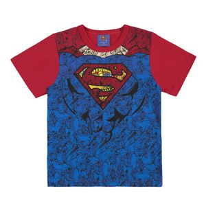 CAMISETA SUPERMAN INFANTIL DO 01 AO 10  -  MARLAN
