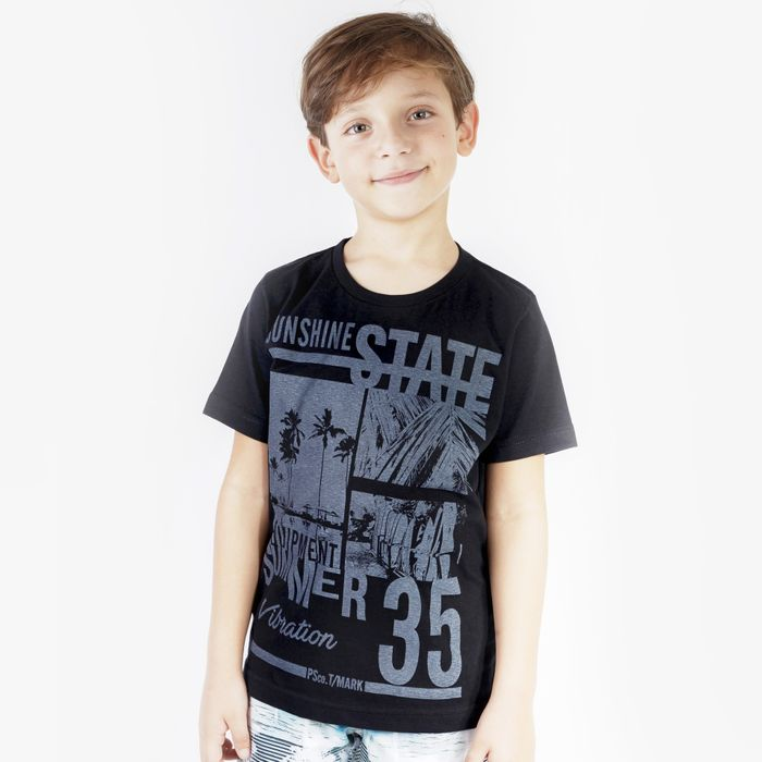 CAMISETA PUBLIC SIDE MASCULINA DO 12 AO 16  - PASSAGEM SECRETA