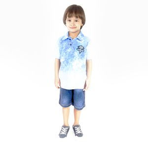 CONJUNTO KIDS MASCULINO DO 08 AO 12 - PASSAGEM SECRETA