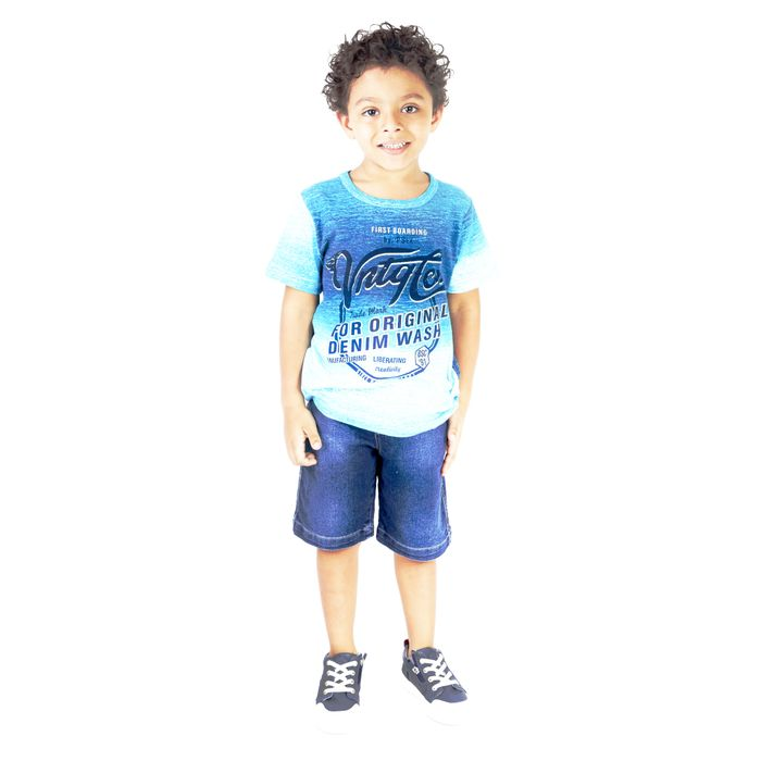 CONJUNTO KIDS MASCULINO DO 02 AO 06 - PASSAGEM SECRETA