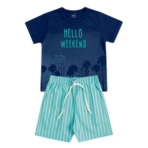 CONJUNTO HELLO WEEKEND DO 01 AO 03 - DILA
