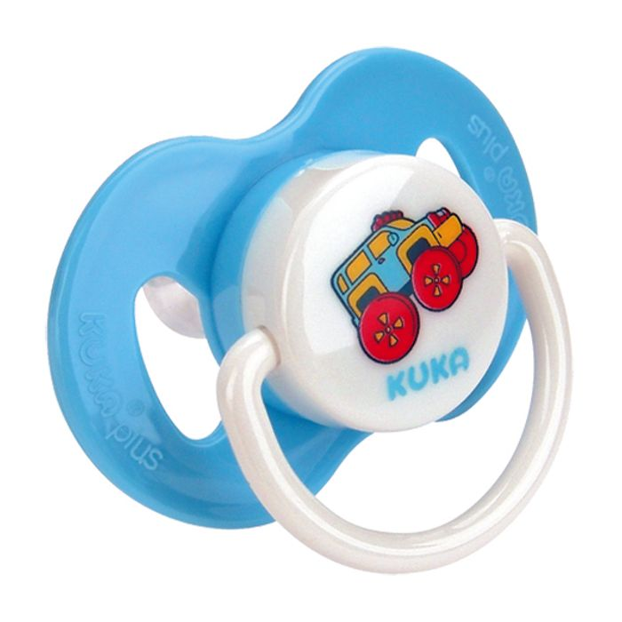 CHUPETA PLUS SIL RED AZUL - KUKA