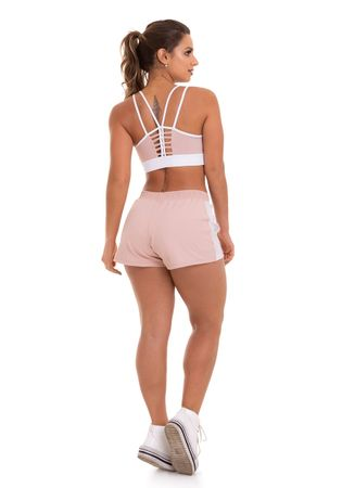 SHORTS TELA JAQUELINE ROSE
