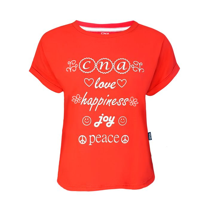 CAMISETA FEMININA HAPPINES CNA
