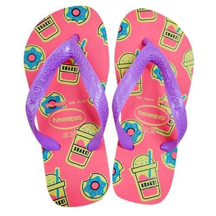Chinelo Havaianas Kids Top Fashion 4144319