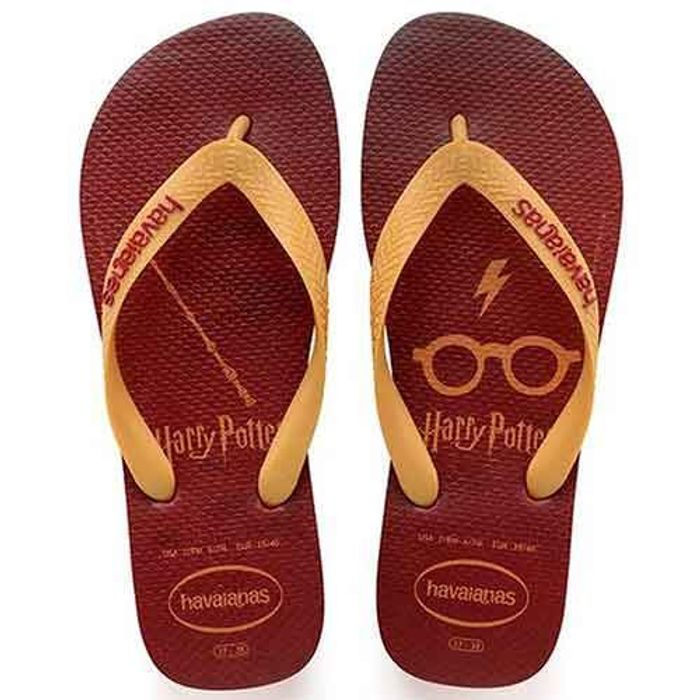 Chinelo Dedo Masculino Havaianas Harry Potter 4141763