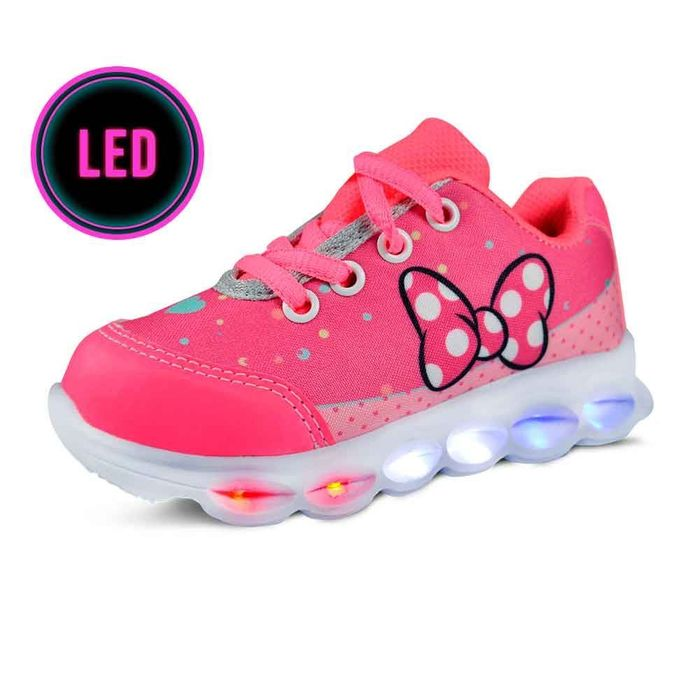 Tênis Led Baby Azez Bb29f