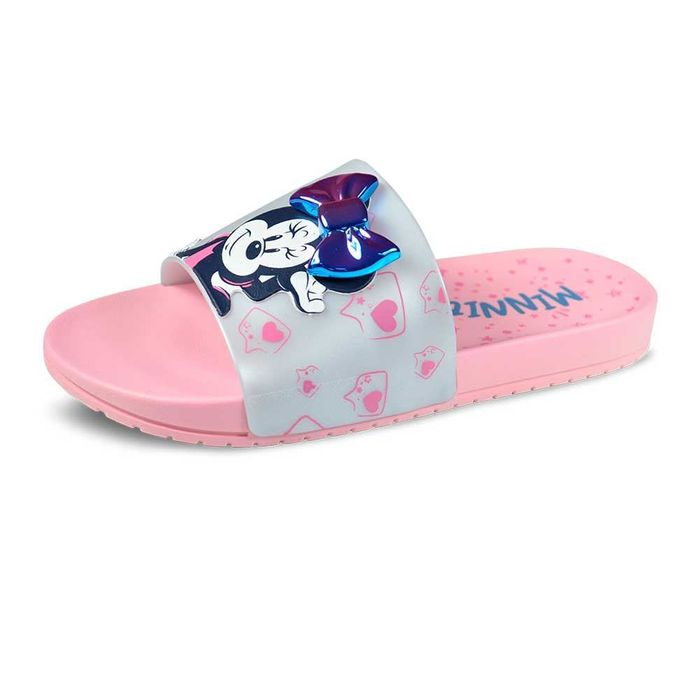 Chinelo Gaspea Infantil Grendene Kids Minnie Fashion Fun 22316
