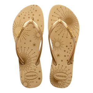 Chinelo Dedo Feminino Havaianas Slim Party 4146347