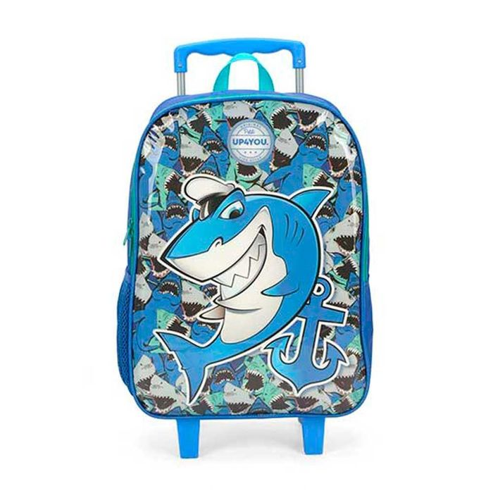 Mochilete Infantil Luxcel Shark Ic35311up