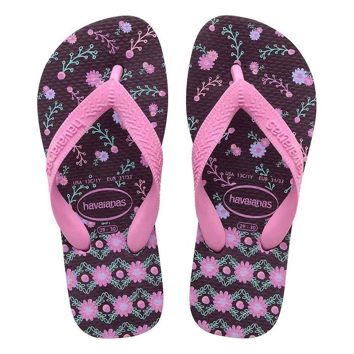 Chinelo Havaianas Kids Flores 4000052