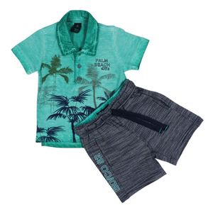 CONJUNTO POLO PALM STONE