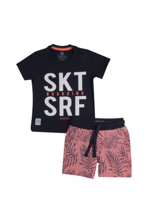 CONJUNTO CAMISETA SARJA BOARDS