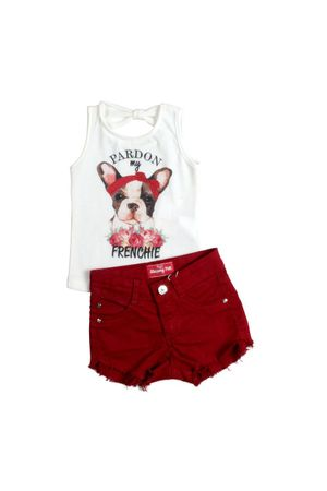 CONJ.SHORTS SUMMER DOG