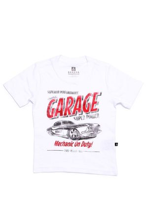 CAMISETA BÁSICA FLAMÊ GARAGE
