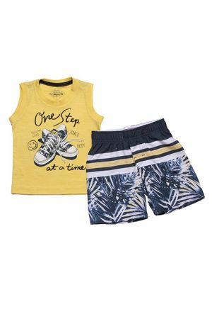 CONJUNTO MASC REGATA E BERMUDA ONE STEP