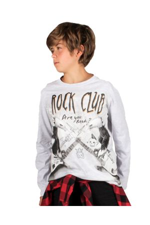 CAMISETA BÁSICA ROCK CLUB