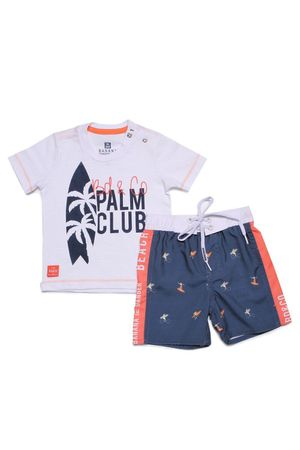 Conjunto Microfibra Palm Club