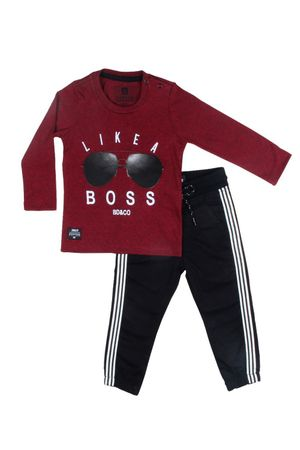 Conjunto Camiseta Jeans Like A Boss
