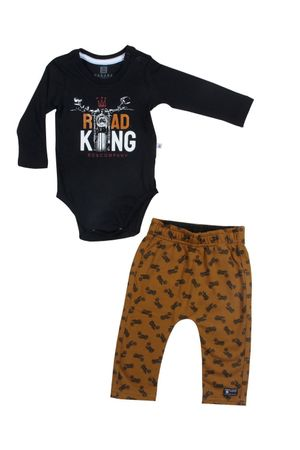 Conjunto Body Camiseta Moletinho King