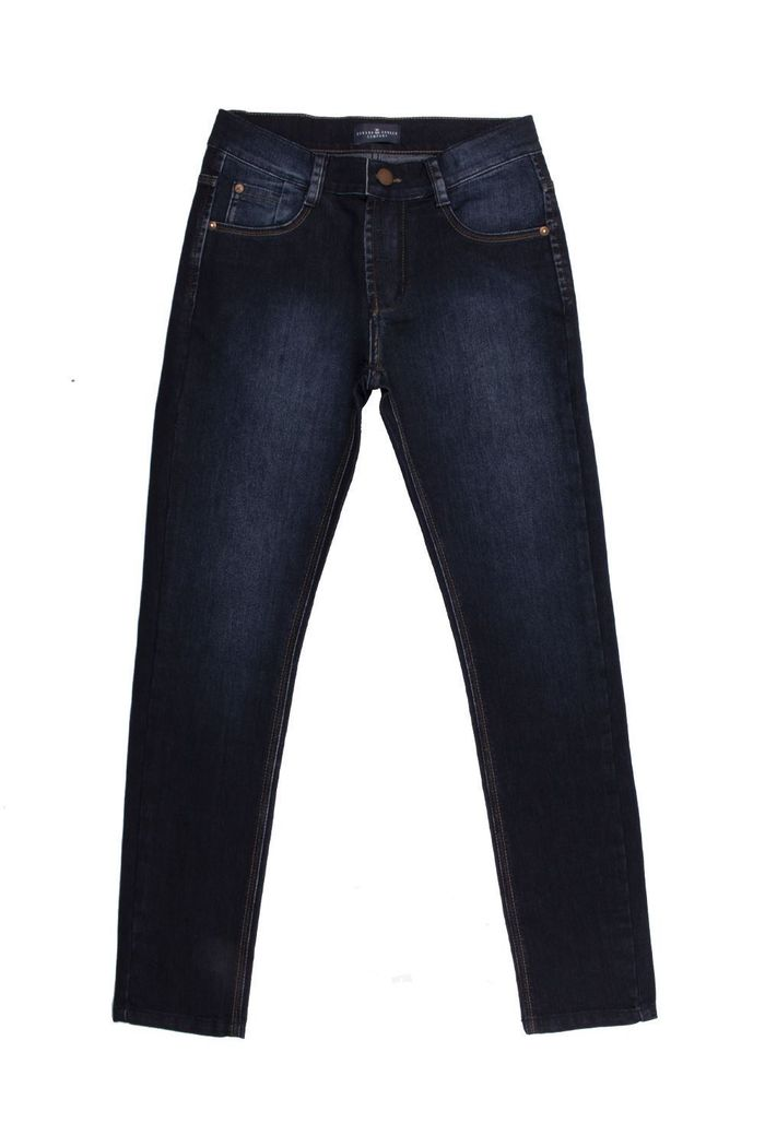 Calça Jeans Skinny Authentic Black Blue
