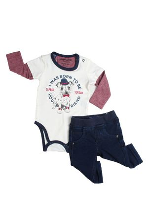 Conjunto Body-camiseta E Calça Dog