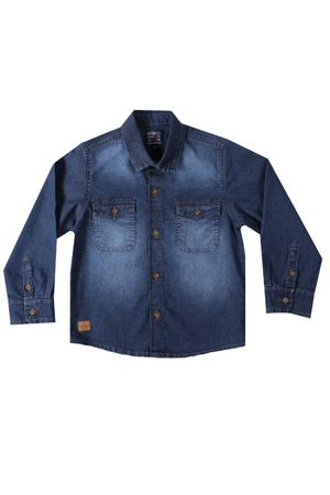 Camisa Jeans Stone Dude