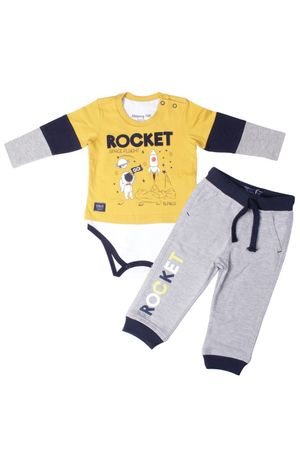 Conjunto Body Camiseta Rocket