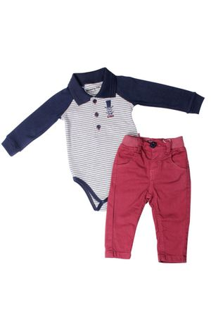 Conjunto Body-polo E Calça Lord