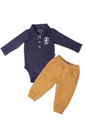 Conjunto Body Polo Jeans Noisy