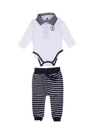 Conjunto Body Polo Piquet Animal Protector