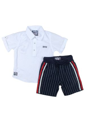 Conjunto Bata White Stripes