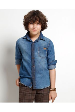 CAMISA JEANS AUTHENTIC BLUE
