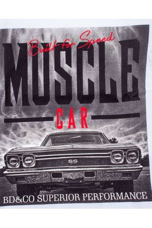CAMISETA BÁSICA MUSCLE CAR