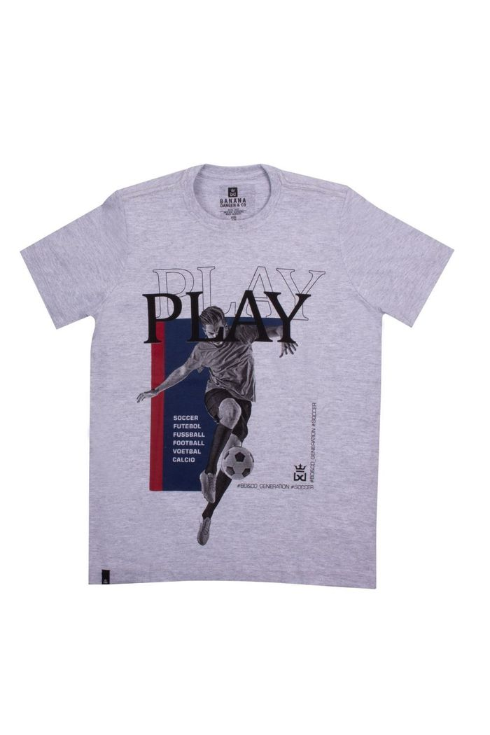 Camiseta Basic Play Soccer