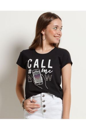 Blusa Baby Look Call Me