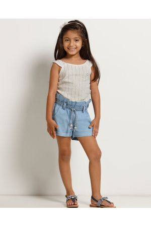 Conjunto Blusa Listrada E Shorts Clochard Resort