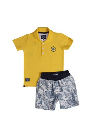 Conjunto Polo Piquet Summer Days