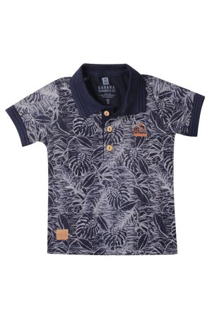 Polo Estampada Flowers