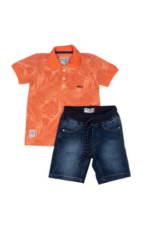 Conjunto Polo Piquet Tropical