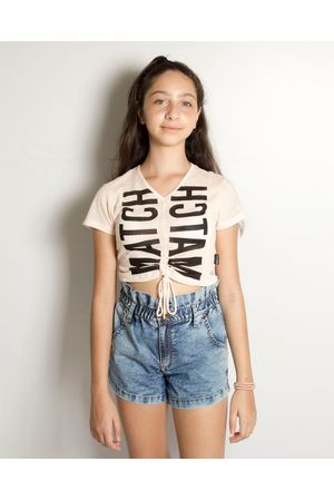 Blusa Cropped Crepe Match