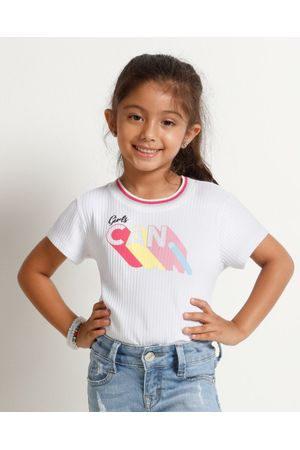 Blusa Canelada Girls Can