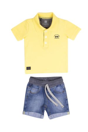 Conjunto Polo Piquet Like A Boss