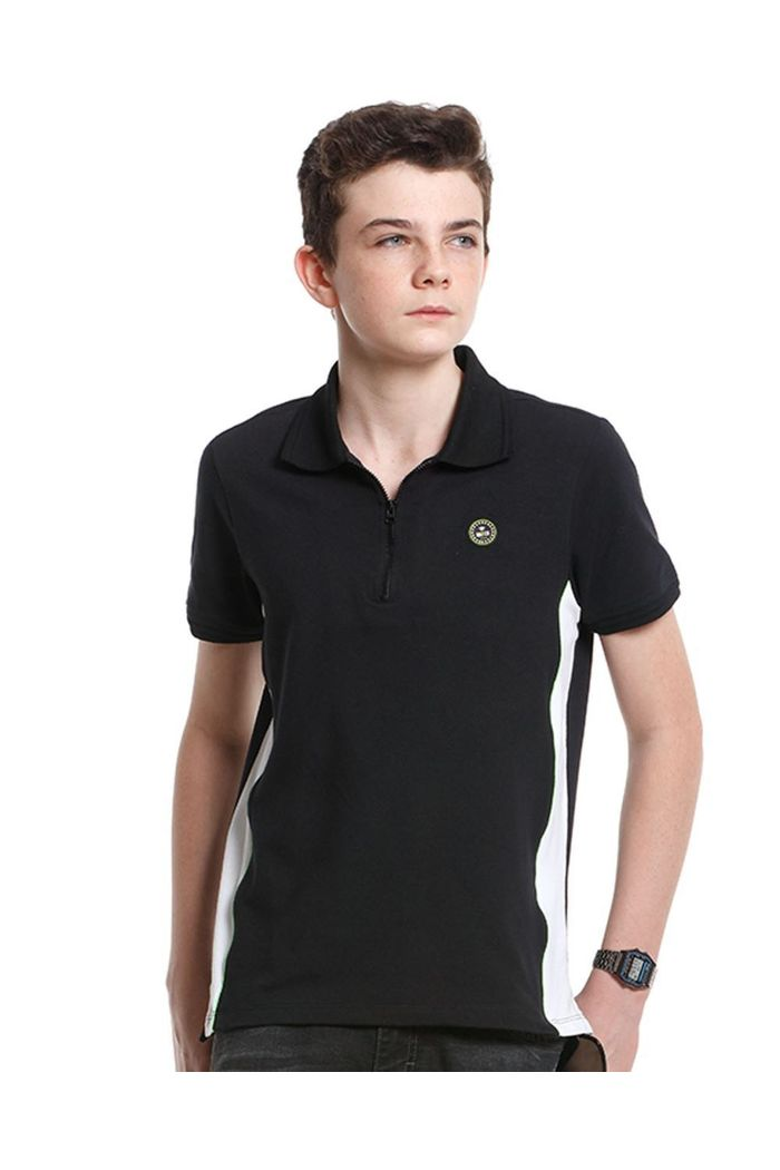 Polo Cotton Zíper